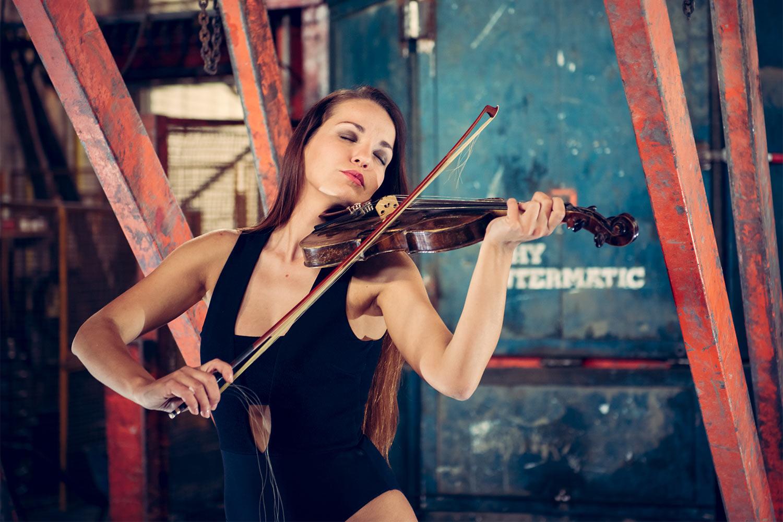 Geigenspiel . Themar 2016 (Foto: Jens Gutberlet)