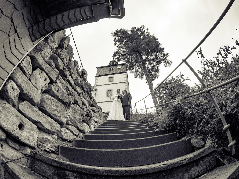 Hochzeits-Treppe . St. Kilian 2017 (Foto: Jens Gutberlet)